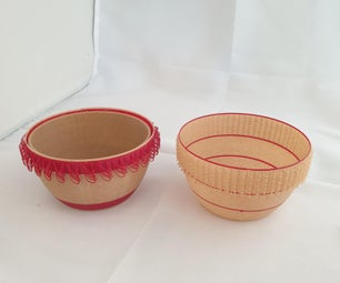 Loopy Garden Pots with insert (using Tinkercad)