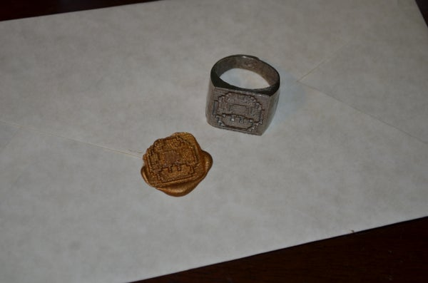 How to Make a Signet Ring and Seal Your Envelopes in Style