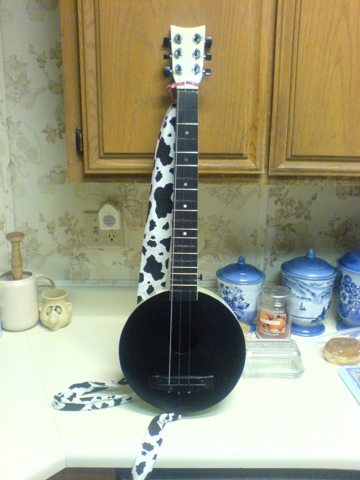 Make a Dulcitar from a cheap guitar at no cost