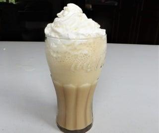 Caramel Flavored Starbucks Frappuccino