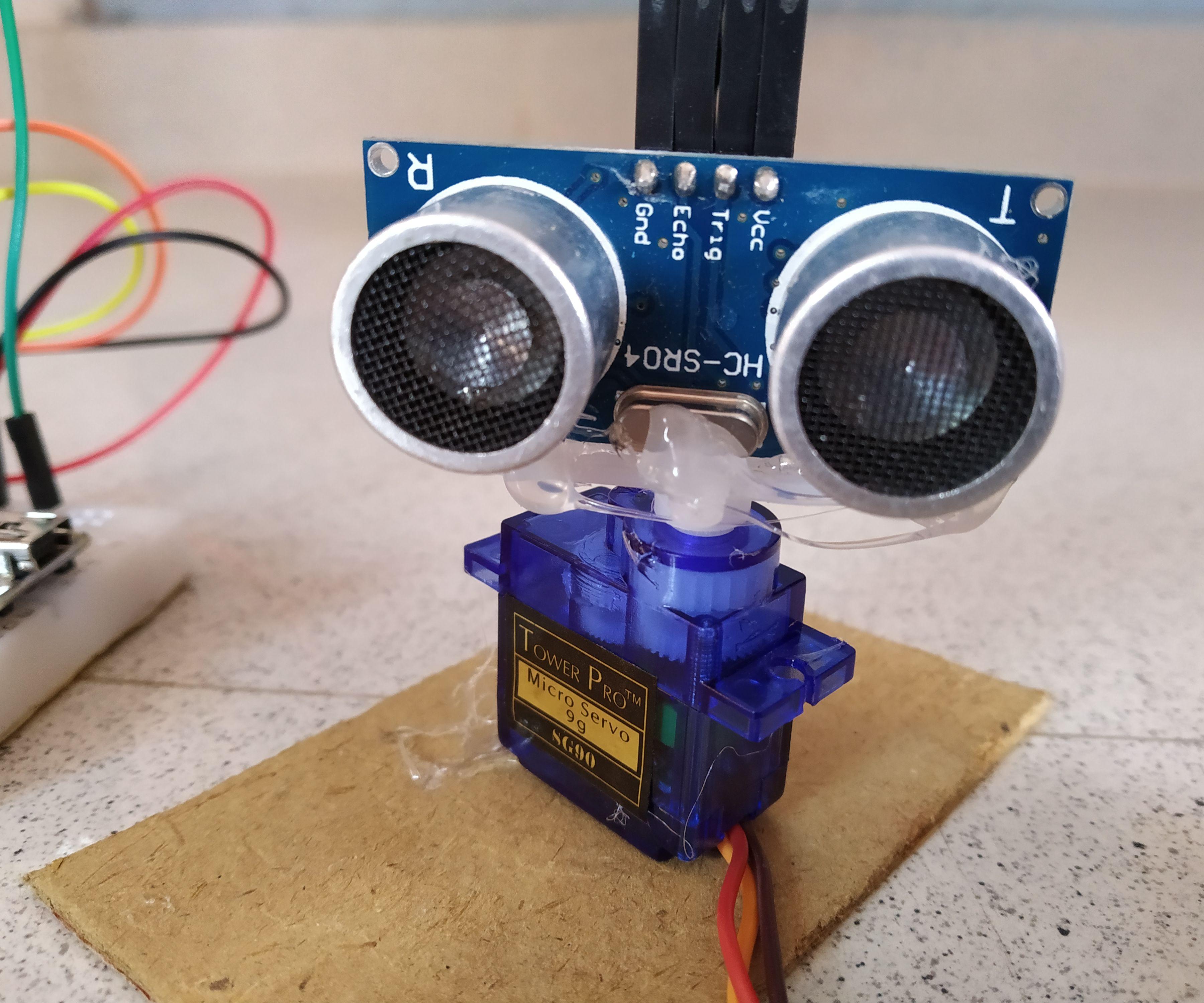 Ultrasonic Radar Using Arduino and Serial Plotter
