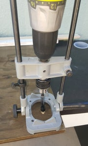 Drill and Install Insert in to Your Plywood Base.