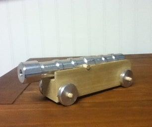 Aluminium Toy Cannon