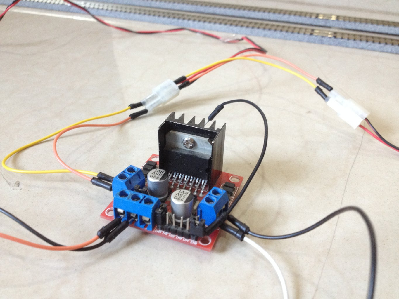 Connect the Turnouts to the Motor Driver