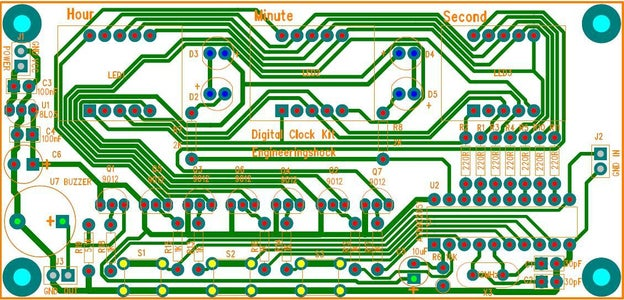 Circuit Schematic and PCB