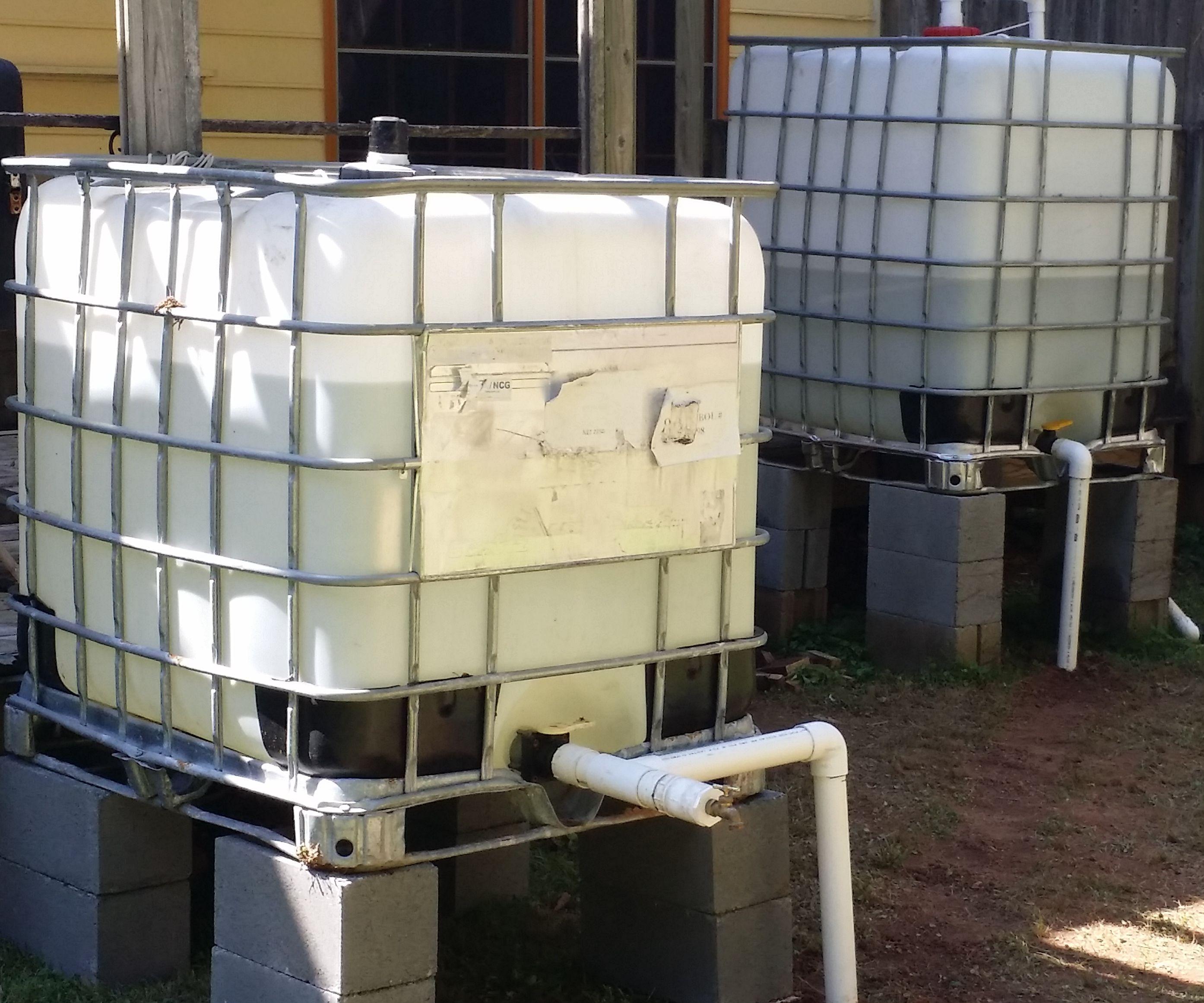 600 Gallons Rainwater Irrigation System