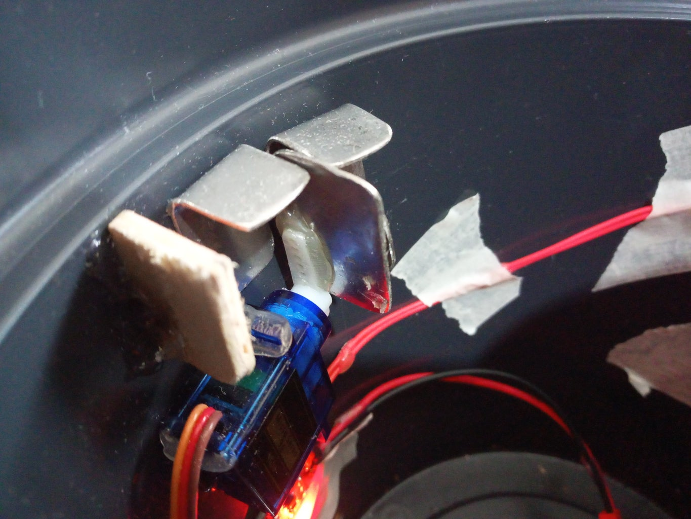 Secret Electronic Lock Without Visible Interface