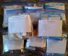 DIY Compact MREs (Meals Ready to Eat)