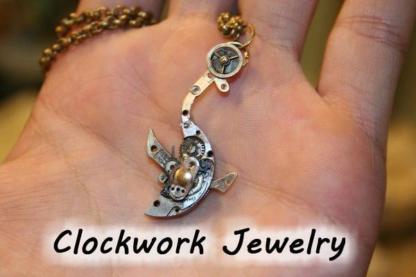 Clockwork Shark Pendant!