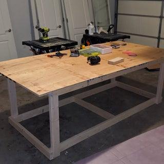 Work Table on Wheels | 4' X 8'