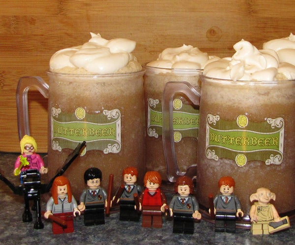"""""""Anyone Fancy a Butterbeer?"""" - Delicious Homemade Butterbeer Recipe"""