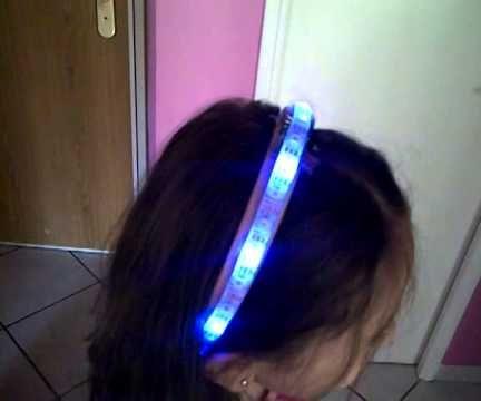 Rainbow LED Headband (WS2812 + ATTiny85)