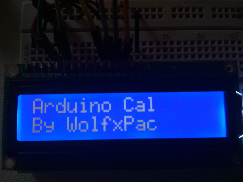 Arduino Calculator Code :-