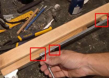 "Woodworking - ""Trolley"" (Horizontal Motion) Mechanism 3"