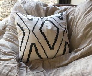Shredded Plastic Indoor/ Outdoor Pillow