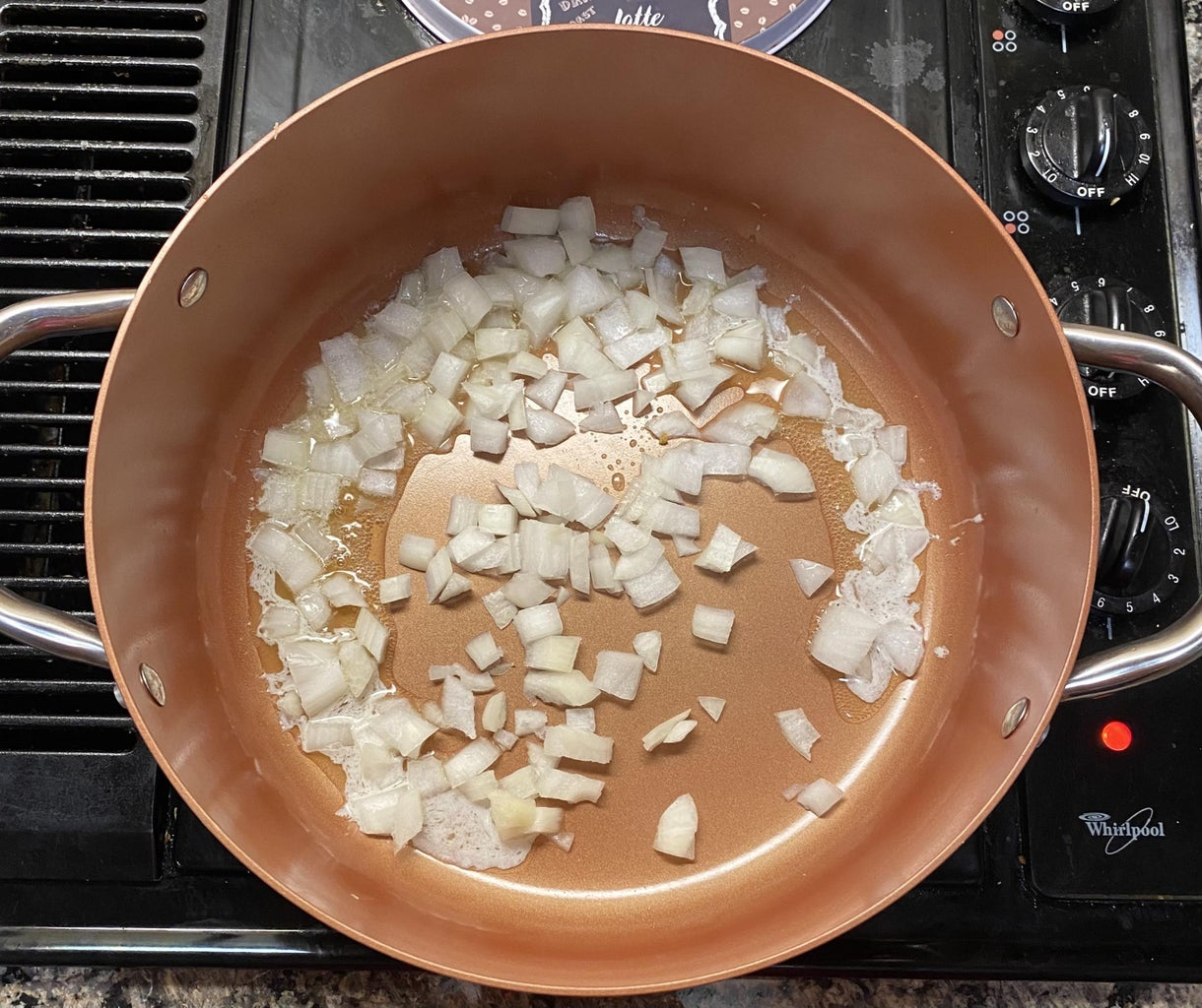 Cooking Onion: