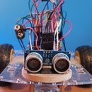 TV Remote Control Car