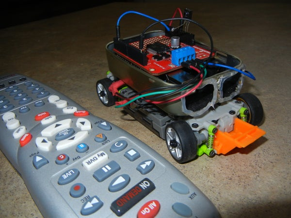 TV Remote Controlled Car