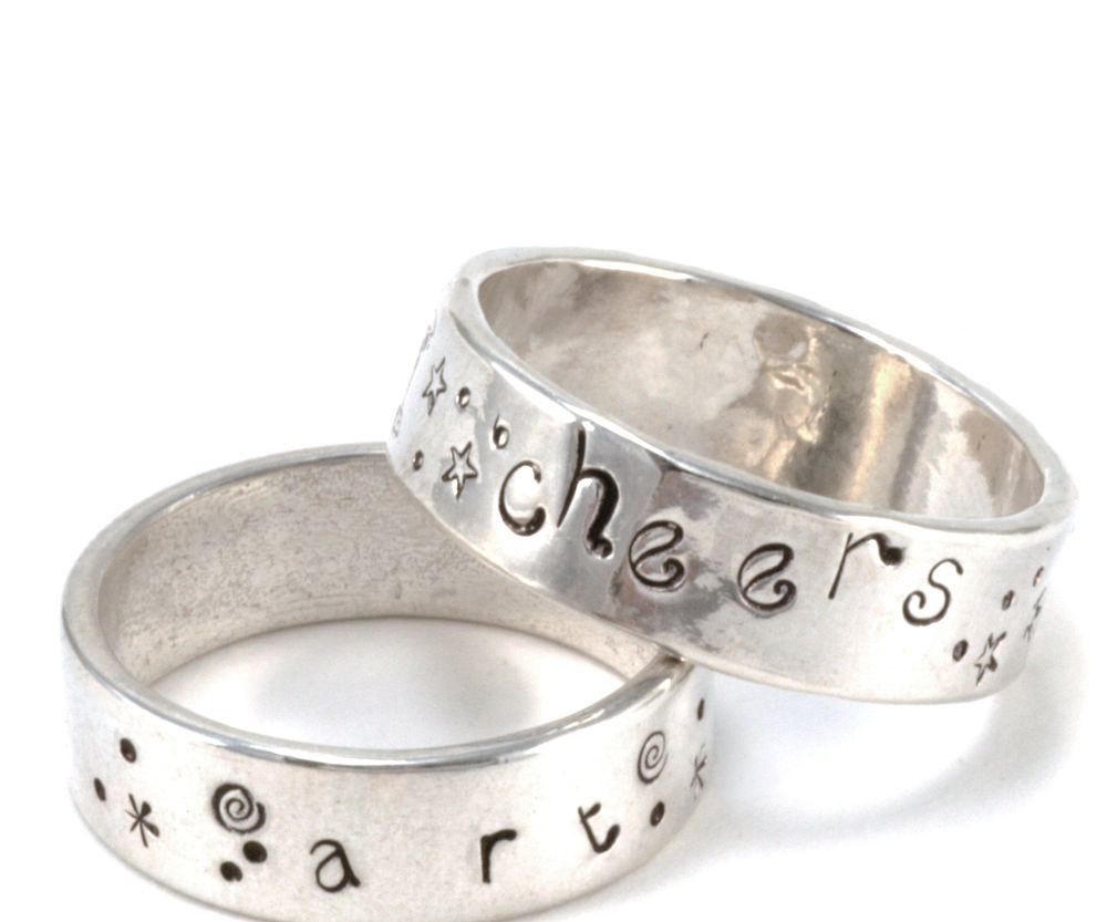 Stamping on Rings with Kate Richbourg at Beaducation - Step by Step Jewelry Making Video Tutorials