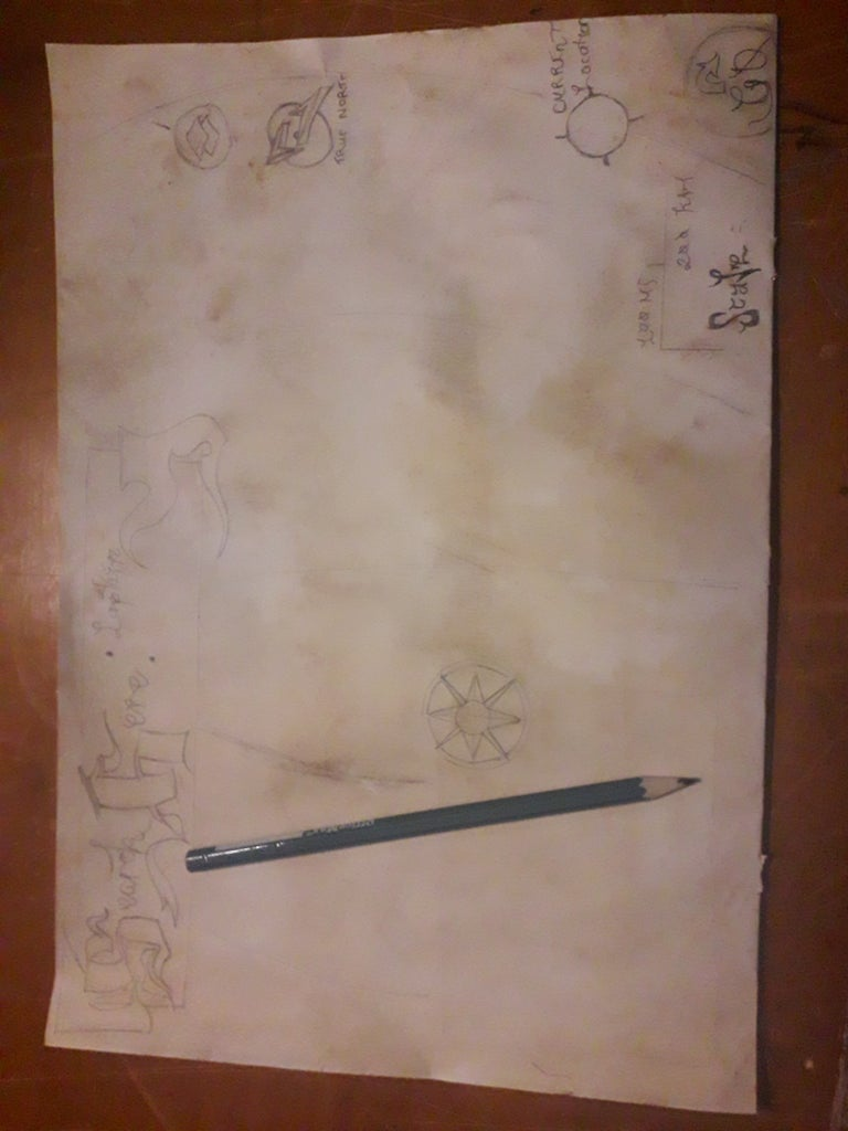 Sketch Out Map