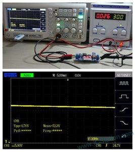 Testing Result:Input Voltage 30V