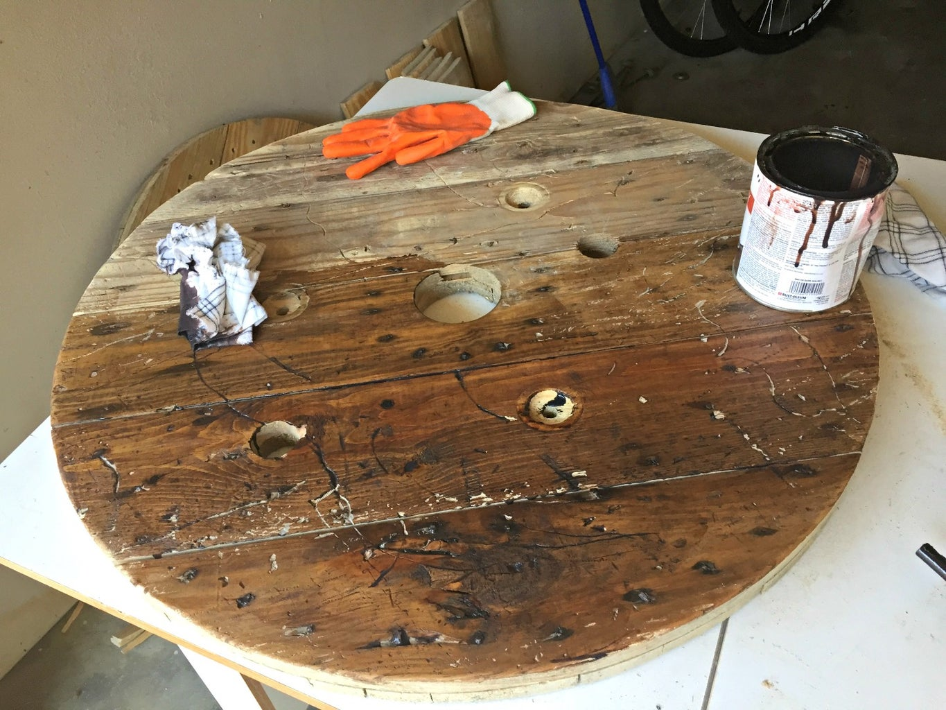 Staining and Finish