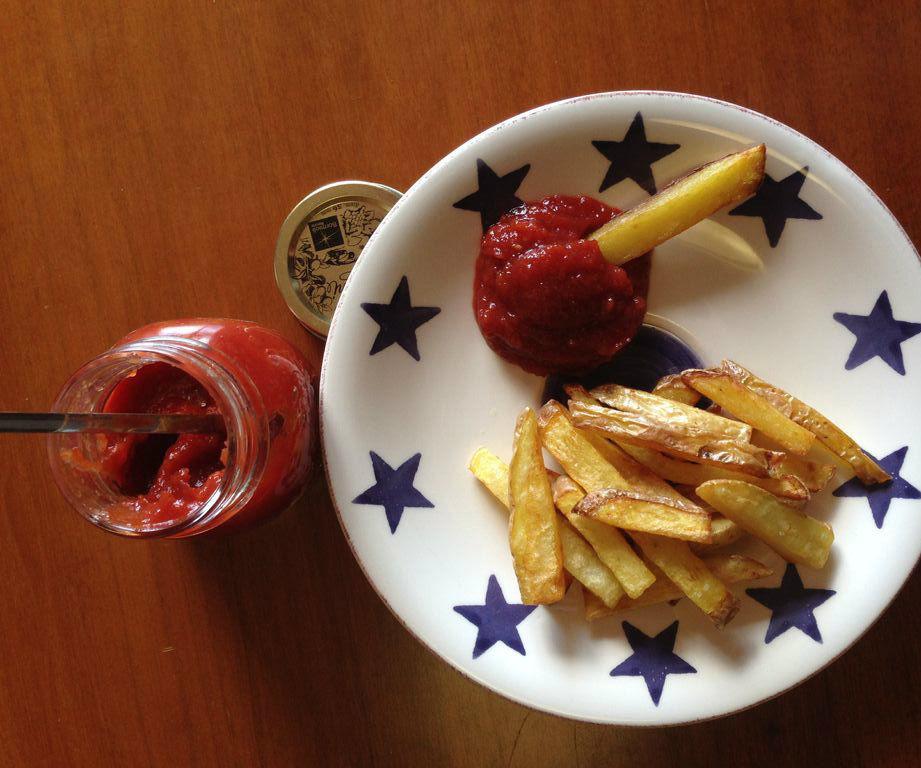 Homemade Chunky Ketchup