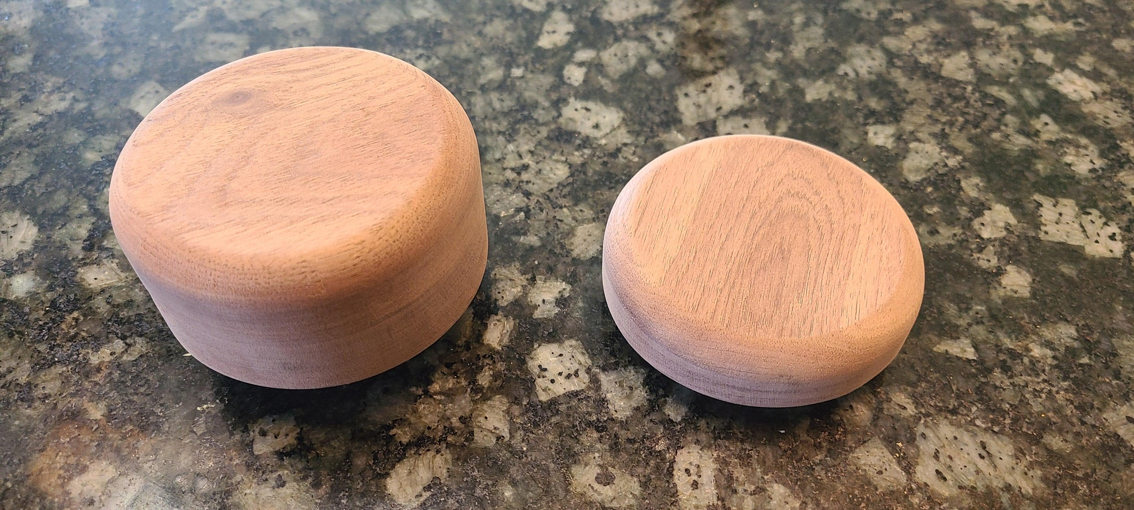 Rounding Off the End Caps and Attaching the Bottom Cap