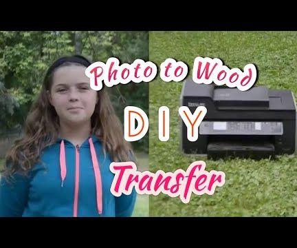 Photo to Wood Transfer DIY Livestream