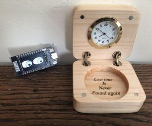 Time in a Box With Vetric Cut2D