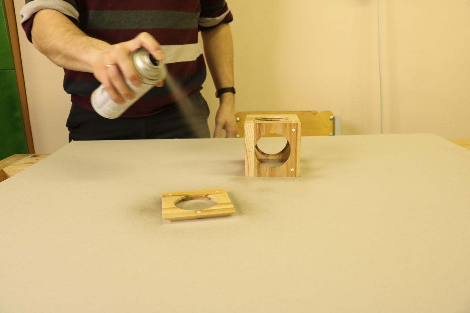 Fine Grinding, Smudge Repairing & Varnishing