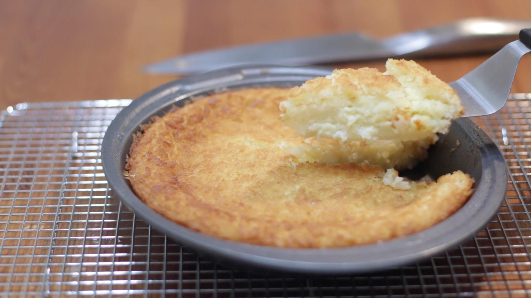 Impossible Coconut Pie