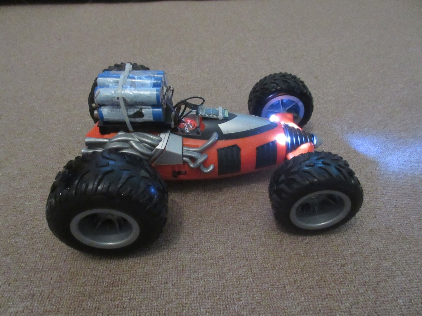 Some Pictures of Our RC Car