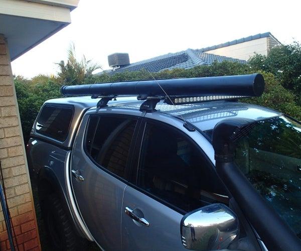 4WD Fishing Rod Storage Mod