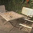 Como renovar los muebles de jardín de teca