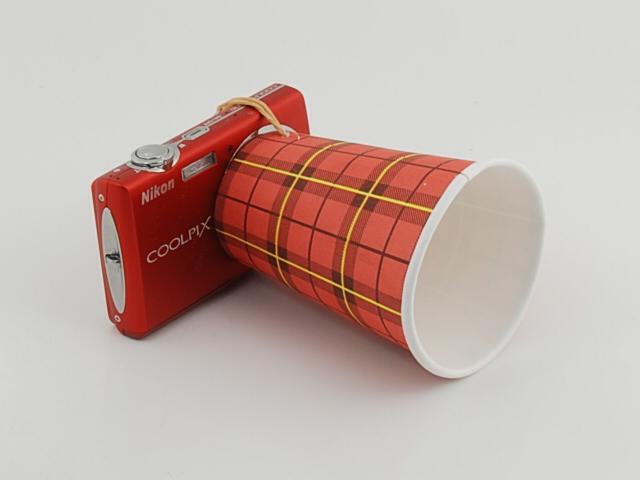 Coffee Cup Lens Hood.