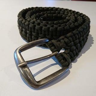 Double Cobra Stitch Paracord Belt