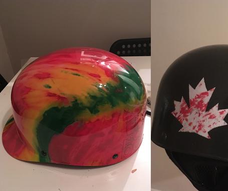Helmet Respray