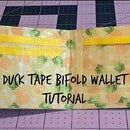Updated Duck Tape Bifold Wallet