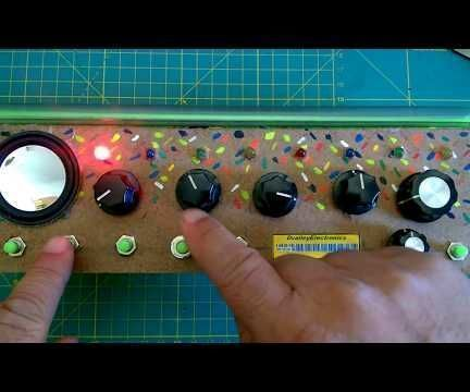 16 Steps Sequencer , Thremin & Synthetizer - Arduino