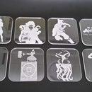 Posavasos de acrílico transparente Legend of Korra