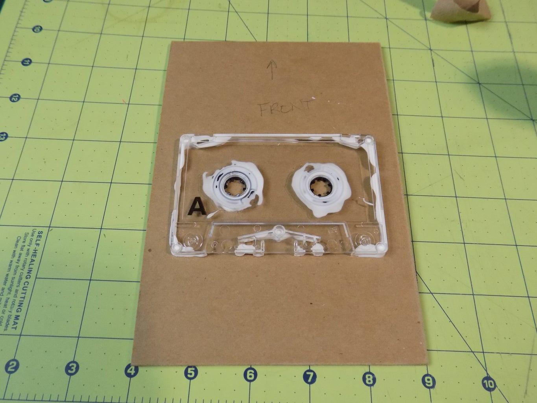 Glue Cassette to Board