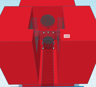 Design Process - Moving Grip - Lead Screw Cutout