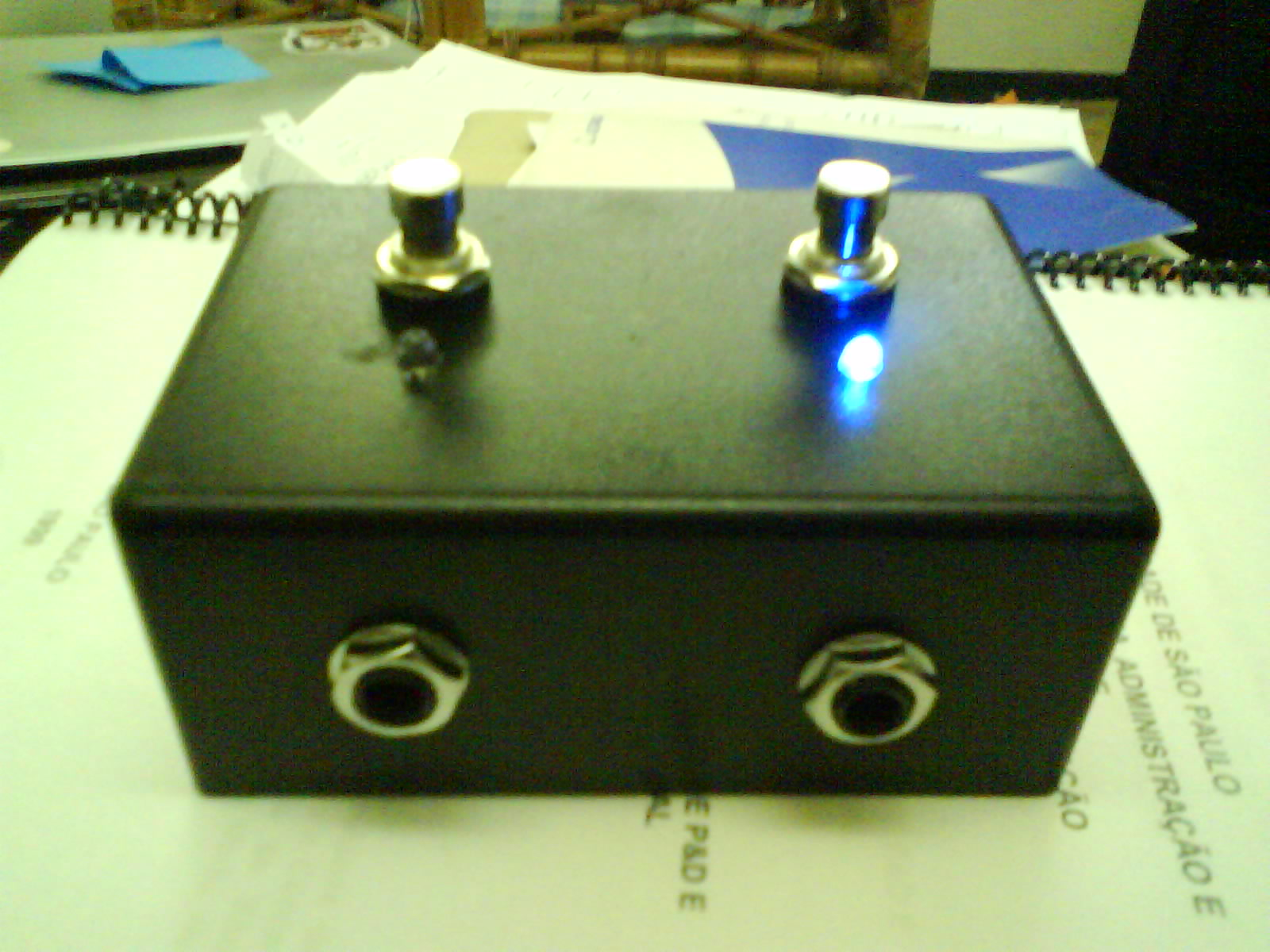 ABY guitar box