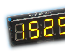 Arduino Display Time on TM1637 LED Display Using RTC DS1307