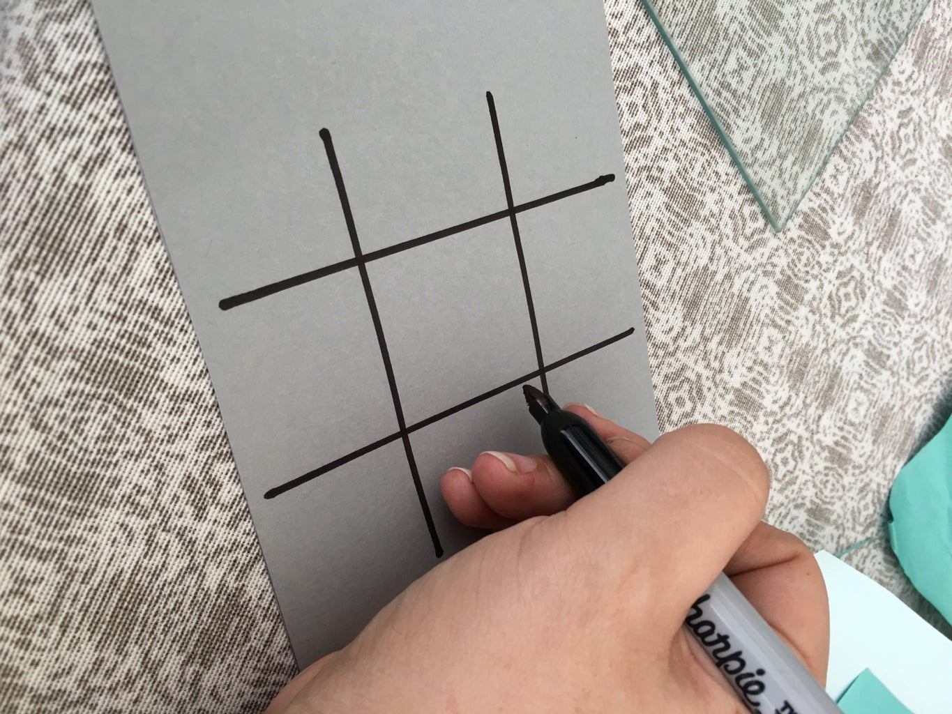 Use Ruler and Marker to Create Game
