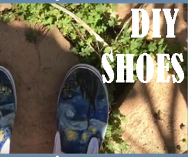 Artsy DIY Fashionable Shoes