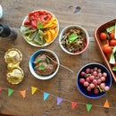Easy beany party hummus dip