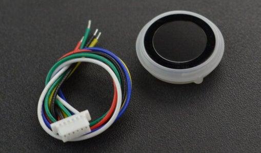 About the Capacitive Fingerprint Sensor