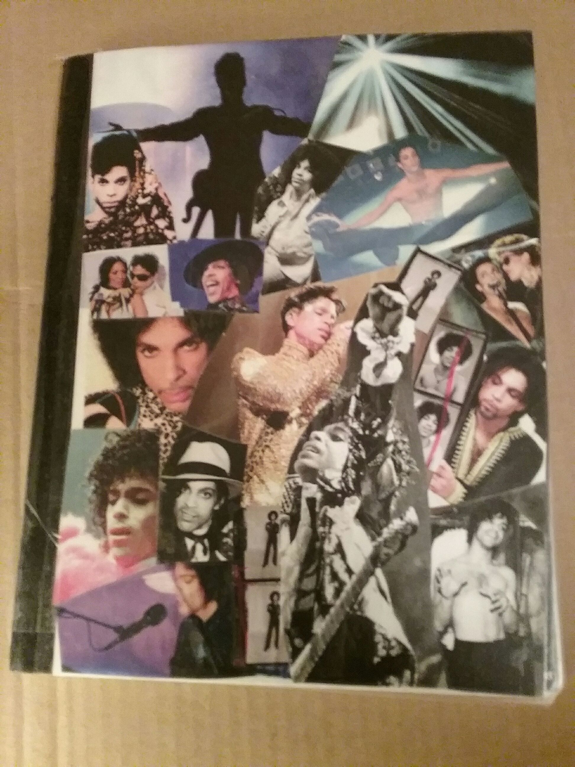 Cover your notebook with pictures